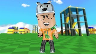 ROBLOX: THE OLD MAN WENT TO THE WORLD OF THE DOLLS WITH SPRING HEADS!! -Play Old man