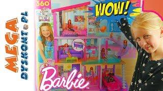 Barbie • Wymarzony dom • Otwieram olbrzymi domek Barbie