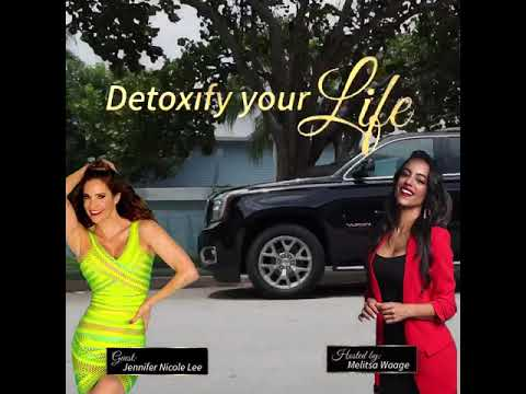 "Jennifer Nicole Lee Interviewed by Melitsa Waage on Radio Talk Show ""Detoxify Your Life"""
