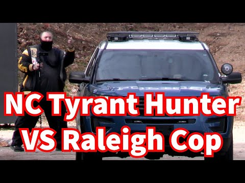 NC Tyrant Hunter In A Standoff With Raleigh Police Office 1st Amendment Audit