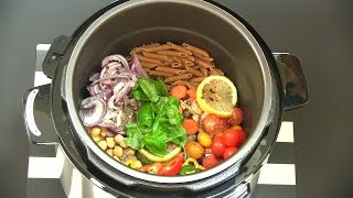 Make One-Pot Pasta That Doesn't Suck! Power Pressure Cooker Recipe | Review