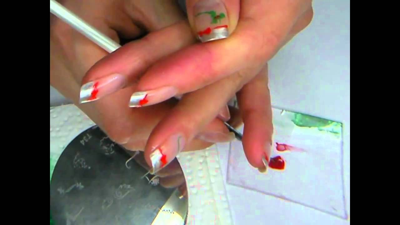Decoration Ongle Nail Art Christmas Nail Art 2 By Delaney Déco Ongles