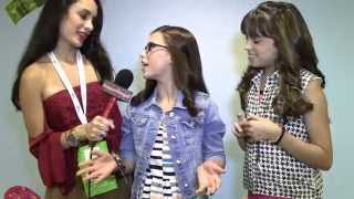 Game Shakers Stars: Madisyn Shipman And Cree Cicchino Interview - Alexisjoyvipaccess - Vidcon