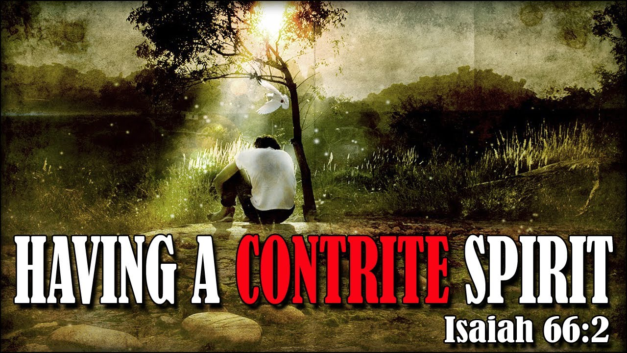 what is a broken and contrite spirit