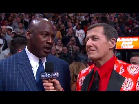 Michael Jordan Interview with Craig Sager at the All-Star Game