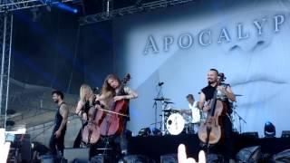 Apocalyptica - I Don't Care, Live