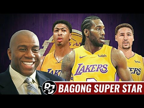 LAKERS Kukuha pa ng SUPER STAR sa 2019 NBA SUMMER - Ayon kay Magic Johnson