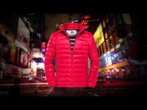 Columbia  קולומביה מעיל אדום