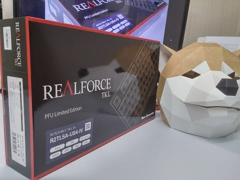 [1부] PFU 리얼포스 R2 저소음 45균등 리뷰 (언박싱, 외형편) PFU Realforce R2 Limited Edition Review