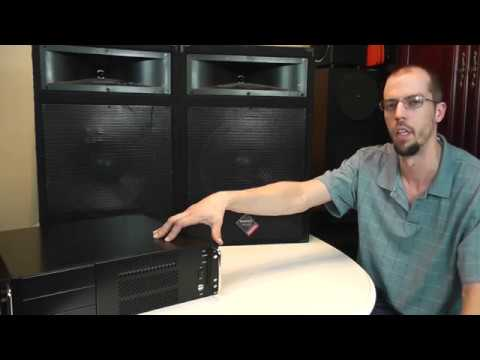 NADY PTS 515 2-Way Speakers Overview & Test