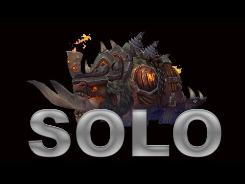 How to Solo Mythic Blackhand for the Ironhoof Destroyer Mount