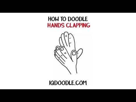How to Draw Hands Clapping (drawing tips)