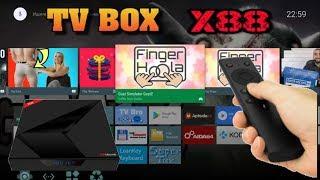 X88 TV Box Обзор Мощной ТВ приставки с Голосовым управлением 4GB Ram + 32 Rom Wi-Fi 2.4G + 5G BT 4.1