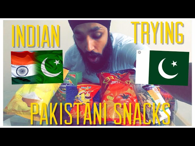 INDIAN TRYING PAKISTANI SNACKS FOR FIRST TIME