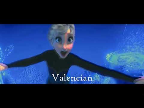 'Let It Go' 25 Latin Languages - Romanic Multi-Language Full-Sequence HD