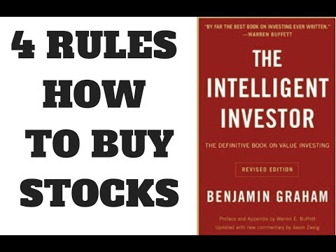 THE INTELLIGENT INVESTOR BOOK SUMMARY - CHAPTER 5 - COMMON STOCKS
