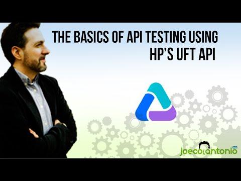 HP's UFT API Basics - DEMO