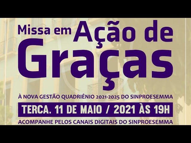 O presidente do Simproesemma, Raimundo Oliveira, e o padre Claudinei Francisco convidam a todos/as p