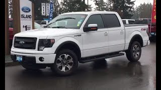 2014 Ford F-150 FX4 W/ Moonroof, NAV, Leather Review| Island Ford