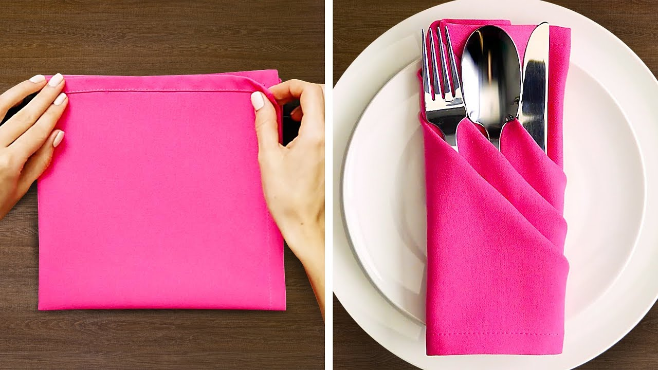 27 Napkin Fold Ideas Youtube