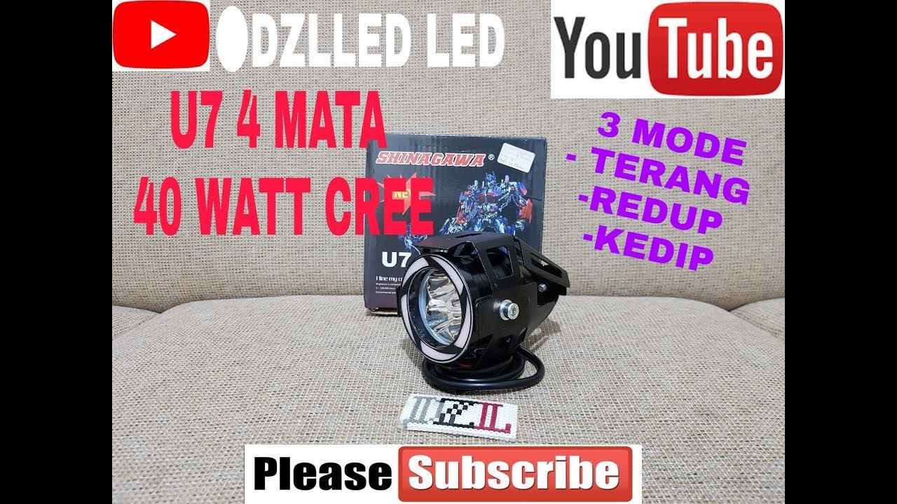 Jual Lampu Tembak Sorot U7 Welcome To Projie U26r Mini 3 Inch Angel Bulat Running Campur Test Transformers 40 Watt Cree