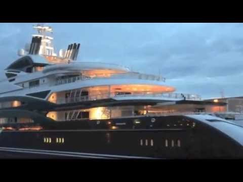 Mega Yacht SERENA presented by Randall Burg Your Concierge Yacht Broker