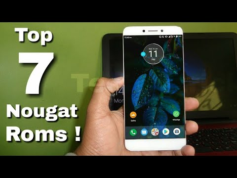 ☑ Get Nougat Update in Letv le 1s! | Top 7 Roms | Android 7 1 2 | Camera  fixed | Weekly update