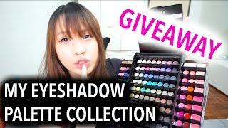 Giveaway 抽奖影片! 我的眼影合集 My Eyeshadow Palette Collection|belindamakeupholic