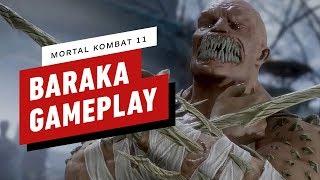 Mortal Kombat 11: Pro Baraka Combo Gameplay with NetherRealm