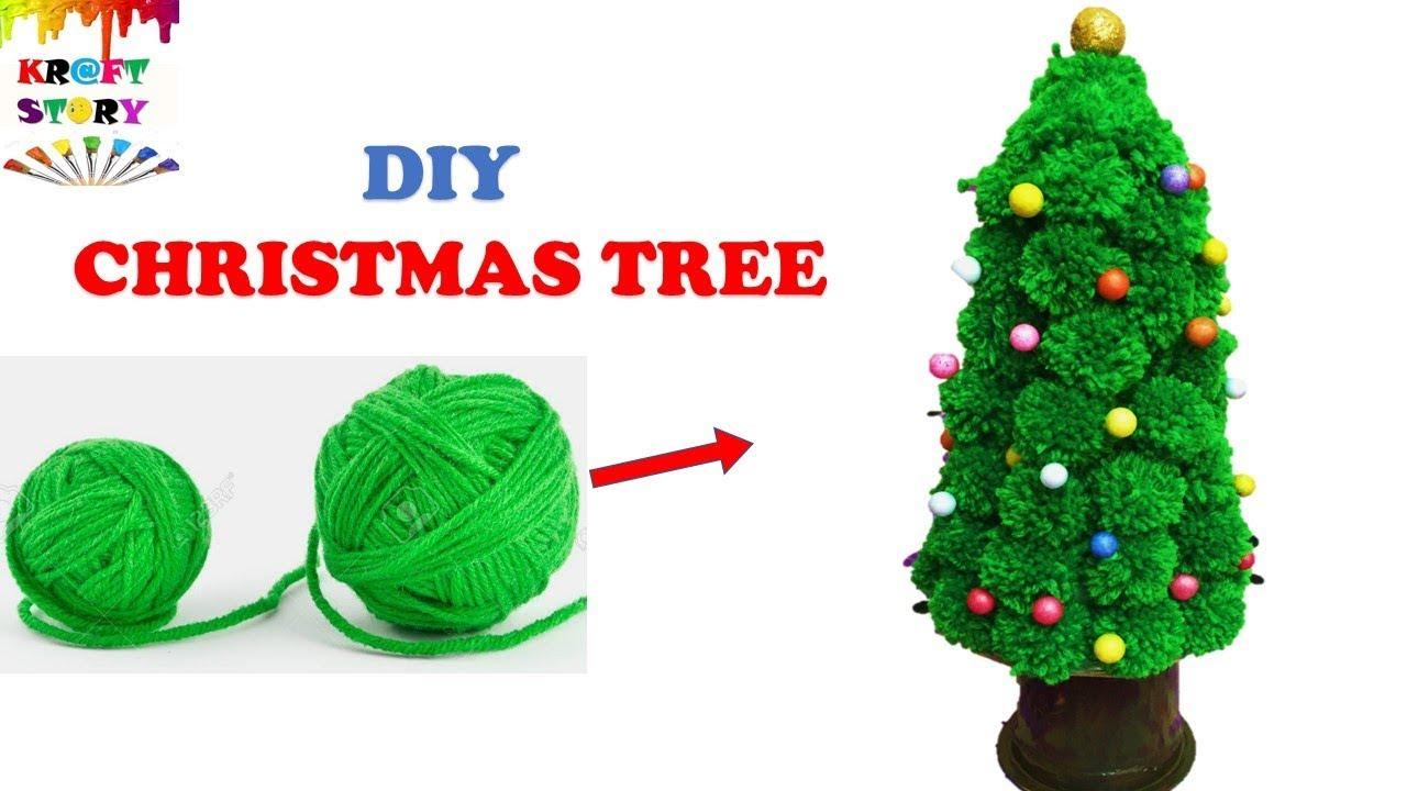 DIY christmas tree || Christmas Craft idea - YouTube