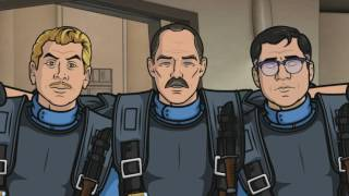 Archer - In memory of Bill Paxton : Sterling Archer as Private Hudson in Space Race / Aliens Mp3