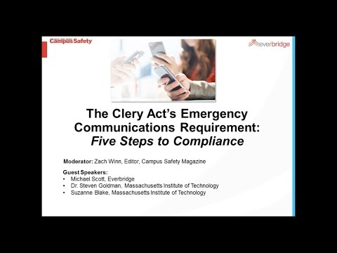 Clery Act 5 Steps to Compliance