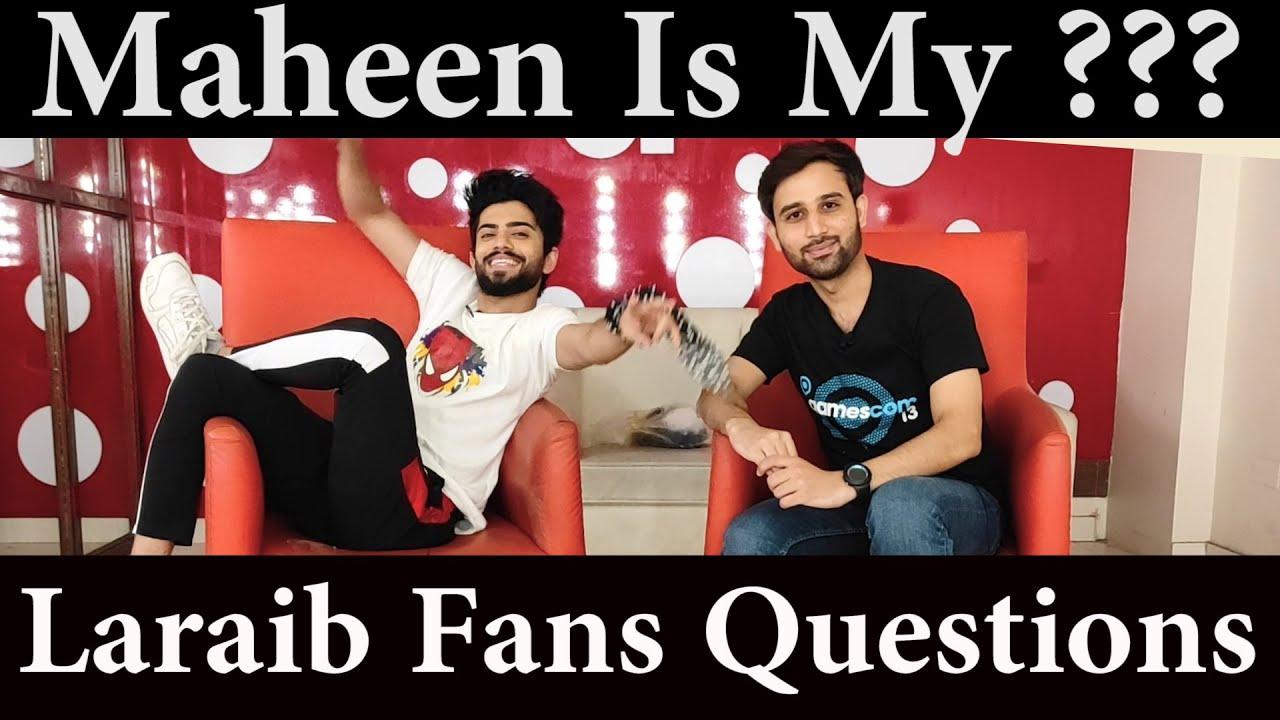 Laraib Khalid   Maheen Obaid   Laraib Khaild Fans Questions   Laraib Khalid Interview   Gossip Guru