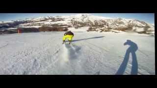Экспресс методика обучения на горных лыжах ))))