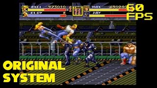 7. (60 FPS) Stage 7: Munitions Plant - 2 Player (Mania) - Streets of Rage 2