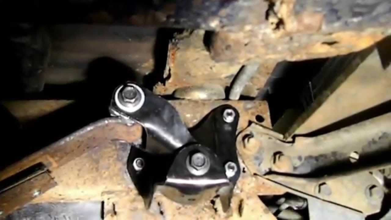 How to Change the Rear Spring Hanger on a Ford Bronco