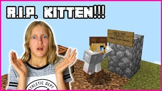 MY CAT DIED !!!