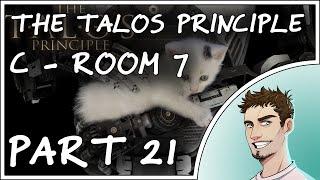Let's play The Talos Principle Part 21 - C level Room 7 (Gameplay Walkthrough Tutorial 1080p@50fps)