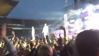 Cheek feat Elastinen: Profeetat live @ Olympiastadion 23082014 HD