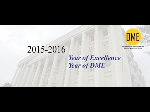 2015-16 Year of Excellence, Year of DME