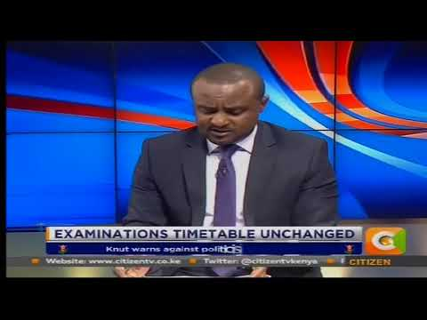Power Breakfast News Review : Examination Timetable  unchanged