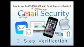Gmail 2 staps verificatie gebruiken met de standaard iPhone mail app!