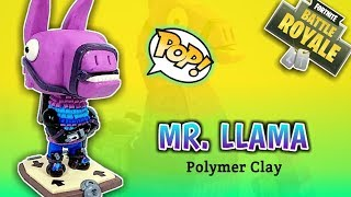 MR. LLAMA | FORTNITE | CUSTOM FUNKO POP | Polymer Clay Tutorial