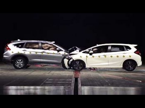 Honda's car-to-car crash testing program