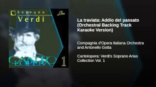La traviata: Addio del passato (Orchestral Backing Track Karaoke Version)