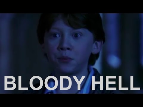 Ron Weasley Bloody Hell