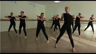 Экзамен по современному танцу (фрагмент). КХК Кияночка. 1 курс
