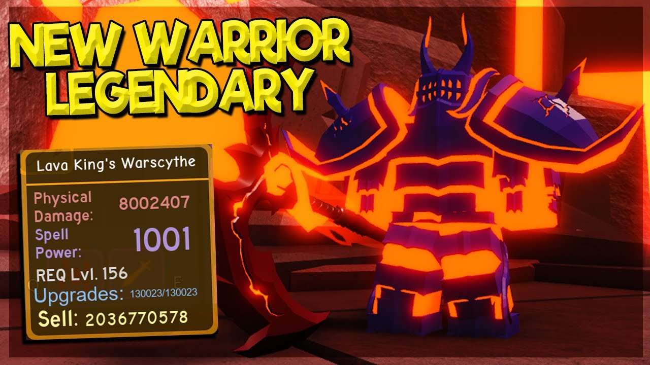 *NEW* WARRIOR LEGENDARY FROM VOLCANIC CHAMBERS *HOW TO SOLO NIGHTMARE* IN DUNGEON QUEST ROBLOX