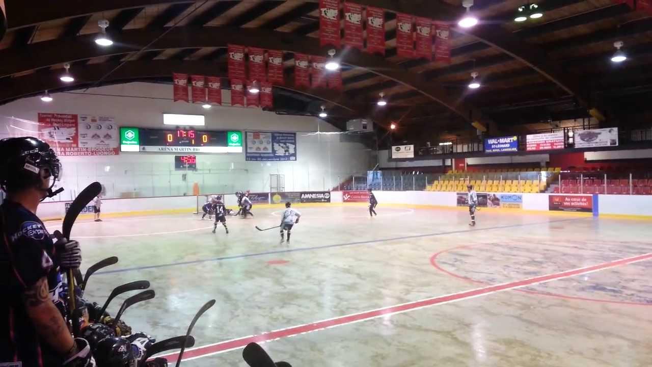 15 Juin 2013 Hockey Experts Vs Montreal Black Knights Arena