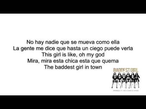 Baddest Girl In Town - Pitbull Ft  Mohombi  Wisin